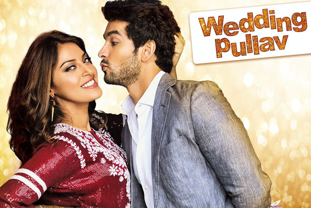 Anushka Ranjan and Diganth Manchale in still from movie Wedding Pullav
