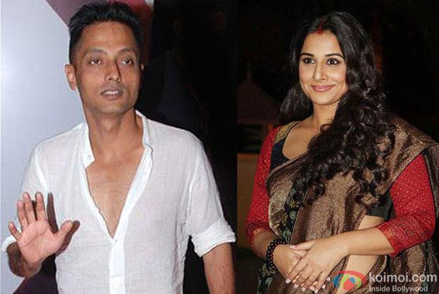 Sujoy Ghosh and Vidya Balan