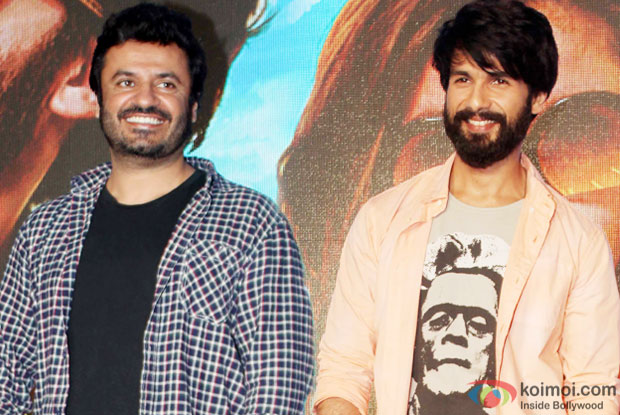 Vikas Bahl and Shahid Kapoor