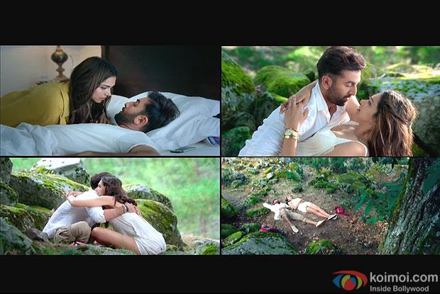 Deepika Padukone and Ranbir Kapoor in still from movie Tamasha