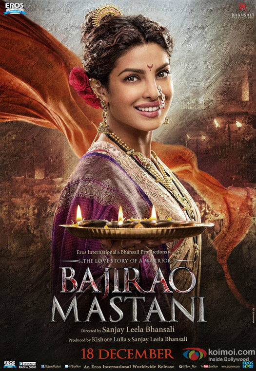 Priyanka Chopra in a 'Bajirao Mastani' Movie Poster 2