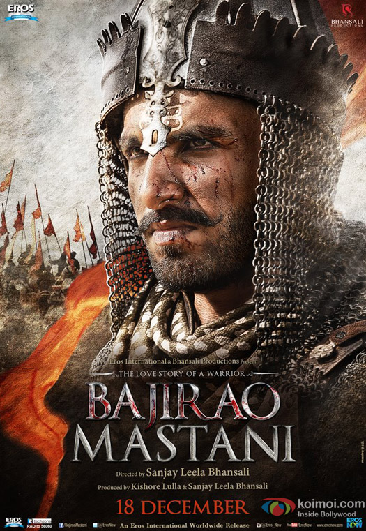 Ranveer Singh in a 'Bajirao Mastani' Movie Poster 3
