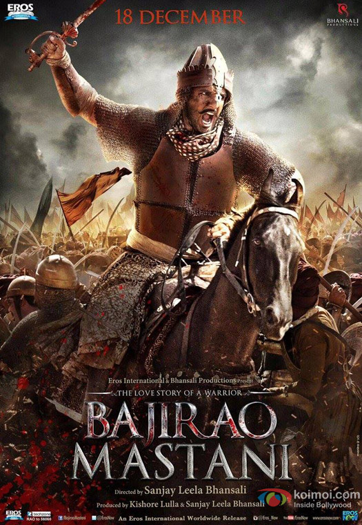 Ranveer Singh in a 'Bajirao Mastani' Movie Poster 6