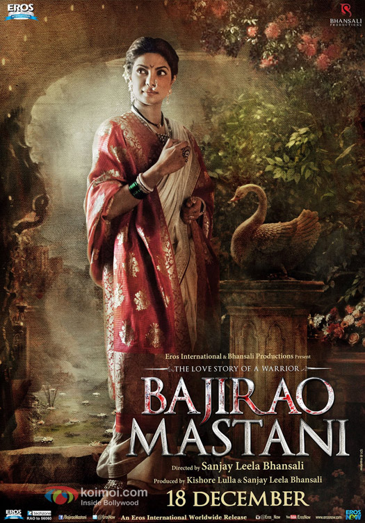 Priyanka Chopra in a 'Bajirao Mastani' Movie Poster 8