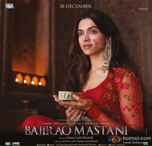 Deepika Padukone in a 'Bajirao Mastani' Movie Poster 9