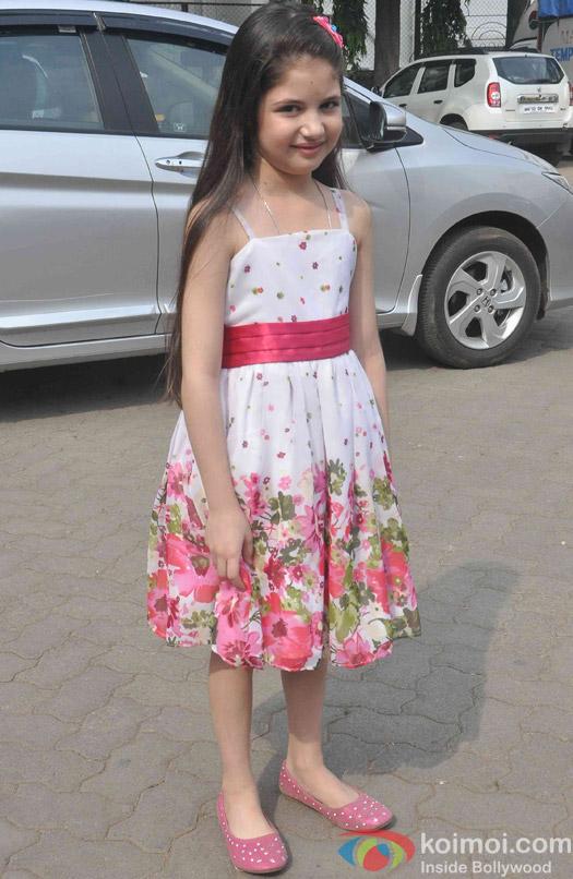 Harshaali Malhotra spotted at Mehboob studio