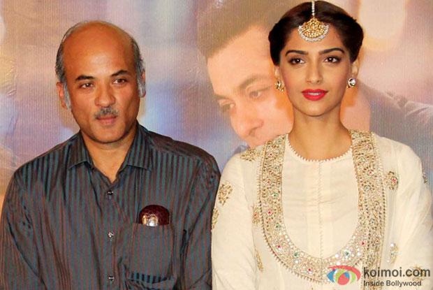 Sooraj Barjatya and Sonam Kapoor