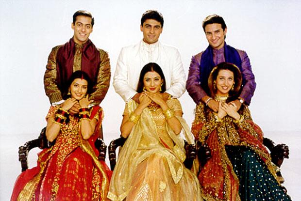 A still from movie 'Hum Sath Sath Haini' (1999)