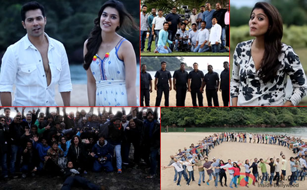 'Dilwale' Team Wished SRK On His 50th Birthday
