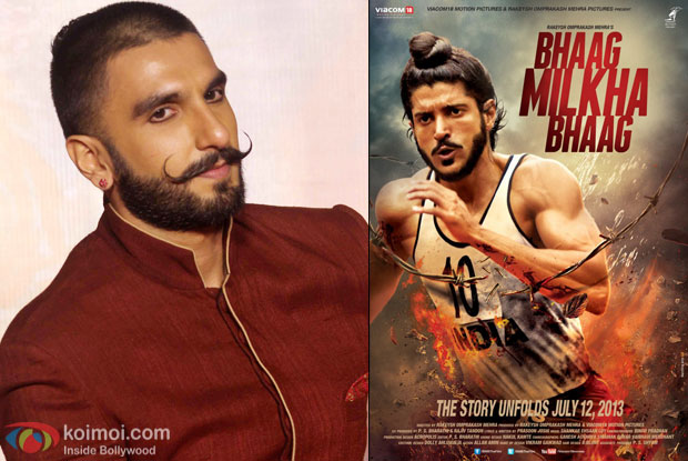 Did You Know? Ranveer Singh Had Auditioned For Bhaag Milkha Bhaag!