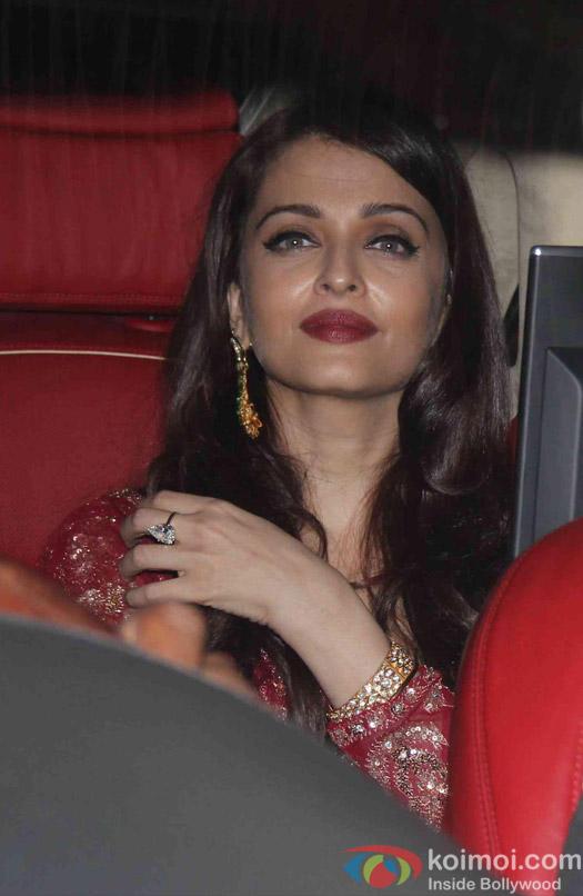 Aishwarya Rai Bachchan attend Akshay Kumar's Diwali party