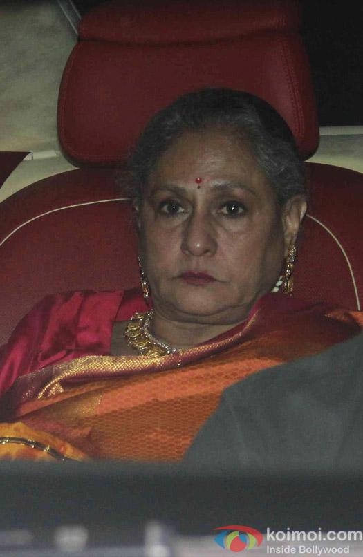 Jaya Bachchan attend Akshay Kumar's Diwali party