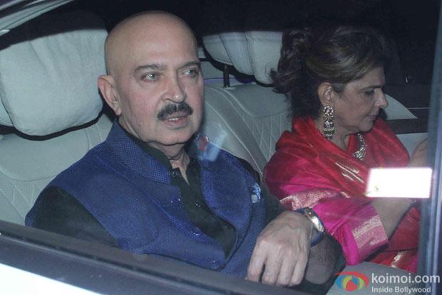 Rakesh Roshan attend Akshay Kumar's Diwali party