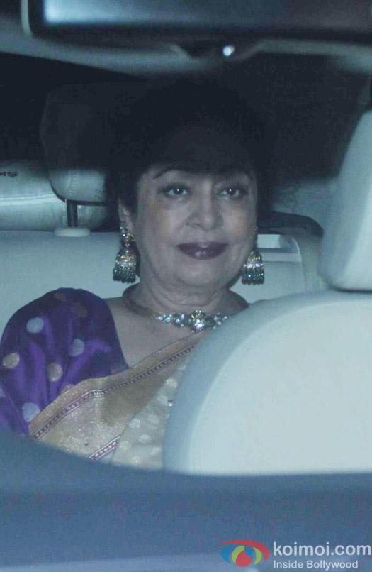 Kiran Kher attend Akshay Kumar's Diwali party
