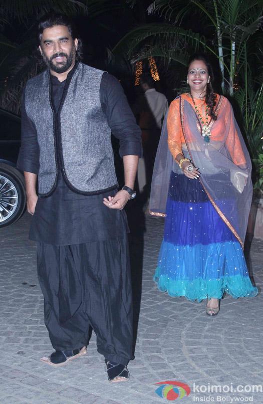 R. Madhavan attend Akshay Kumar's Diwali party