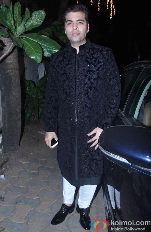 Karan Johar attend Akshay Kumar's Diwali party