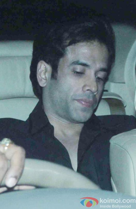 Tushar Kapoor attend Akshay Kumar's Diwali party