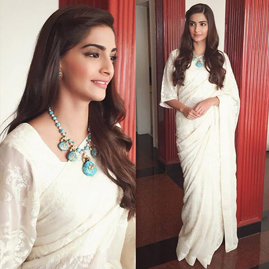 Sonam Kapoor during the Promotion of movie Prem Ratan Dhan Payo