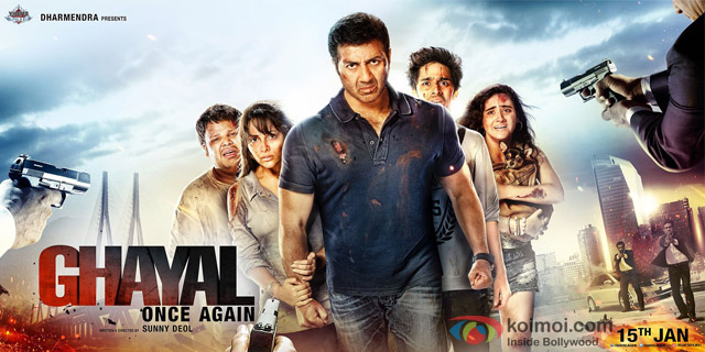 Sunny Deol starrer 'Ghayal Once Again' Movie Poster 3