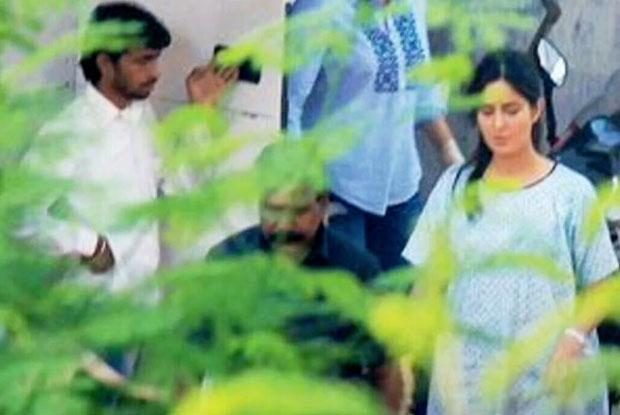 Katrina Kaif Clicked on the set Of Baar Baar Dekho