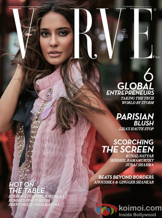 Lisa Haydon on Verve Magazine Cover