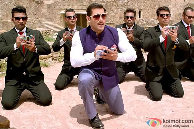 Salman Khan in stills from movie Prem Ratan Dhan Payo