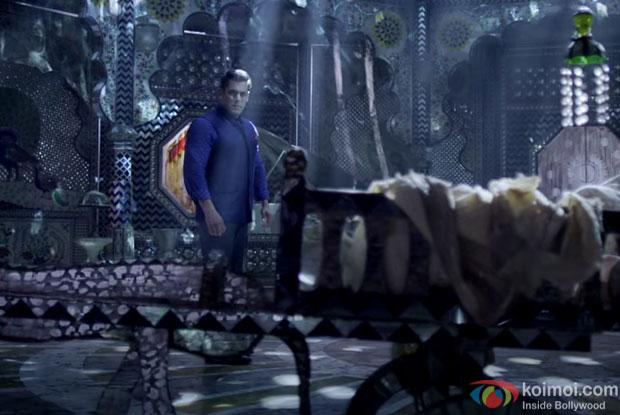 Salman Khan in a still from 'Prem Ratan Dhan Payo'