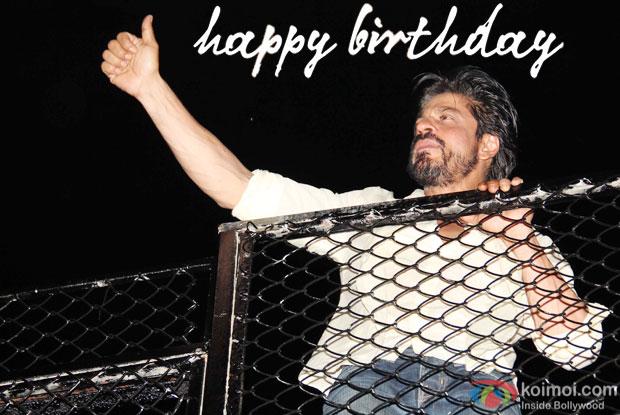 Shah Rukh Khan At 50