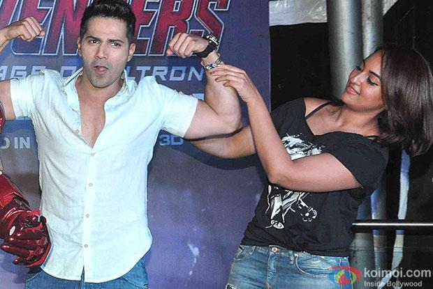 Varun Dhawan and Sonakshi Sinha
