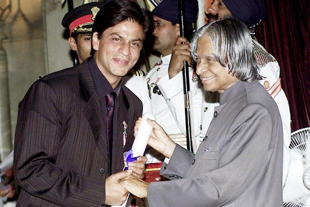 Shah Rukh Khan and A. P. J. Abdul Kalam