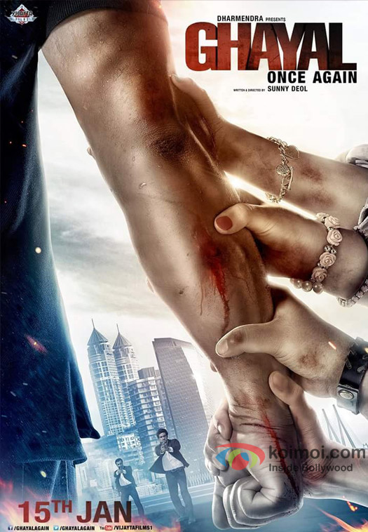 Sunny Deol Starrer Ghayal Once Again Movie Poster