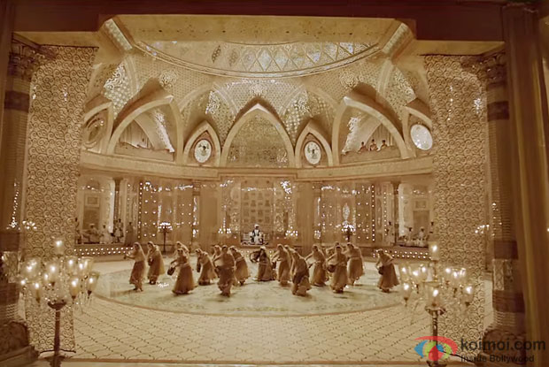 The Sets Of 'Deewani Mastani' Track From Bajirao Mastani Is Now A Museum