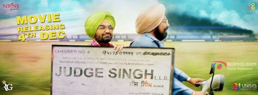 Judge Singh LLB movie poster