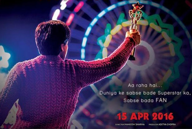 Shah Rukh Khan in stils from movie Fan