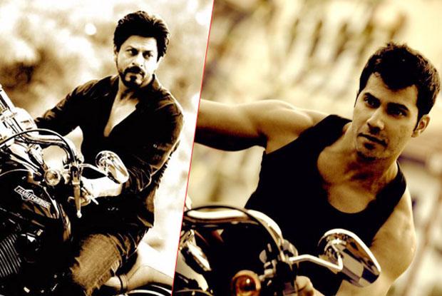Shah Rukh Khan and Varun Dhawan