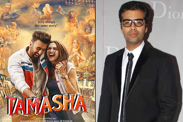 Will watch 'Tamasha' for Imtiaz Ali: Karan Johar
