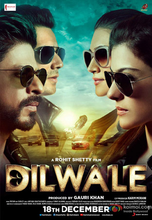 Dilwale Movie Poster