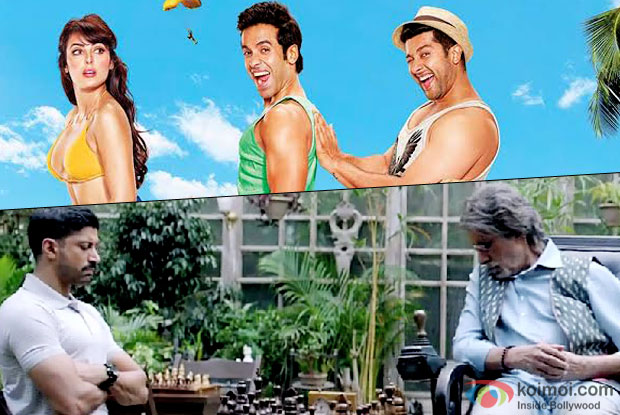 Box Office - Kya Kool Hain Hum 3 has lesser Week One than Wazir