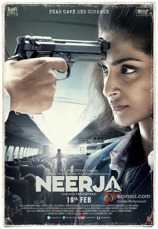A Fearless Sonam Kapoor On The Neerja Poster