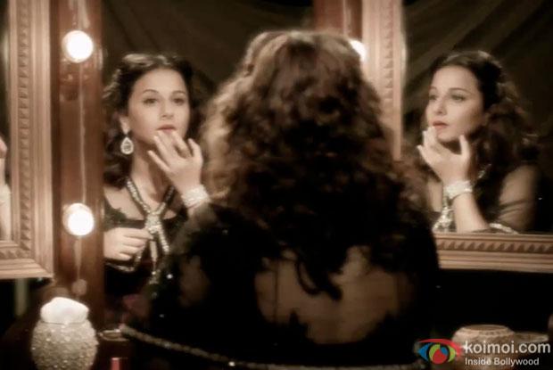 Vidya Balan in a still from 'Ek Albela'