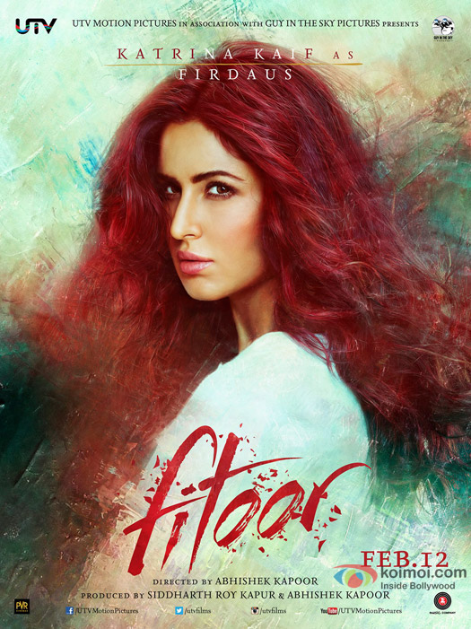 Katrina Kaif in a 'Fitoor' Movie Poster 2