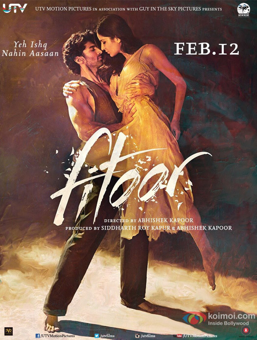 Aditya Roy Kapur and Katrina Kaif in a 'Fitoor' Movie Poster 5