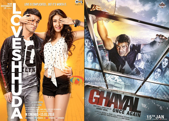 Loveshhuda and ghayal Once Again movie posters