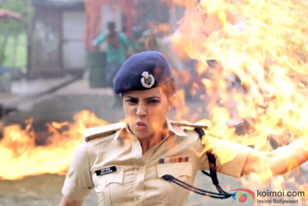 Priyanka Chopra  in a still from 'Jai Gangaajal'