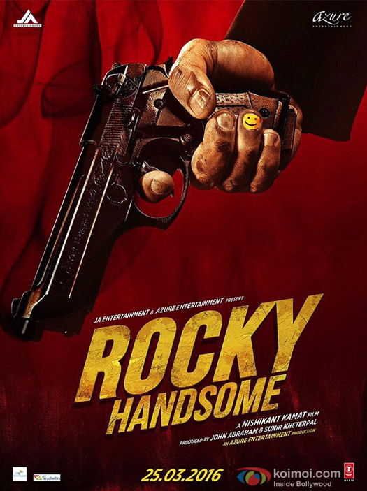 John Abraham starrer 'Rocky Handsome' Movie Poster 1