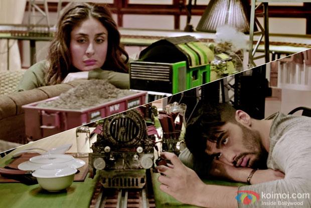 Kareen Kapoor Khan and Arjun Kapoor in a JI HUZOORI song still from KI & KA