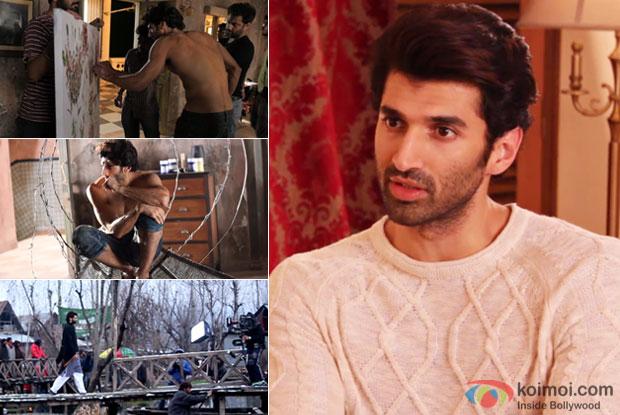 Behind The Scenes : Aditya Roy Kapur as Noor In Fitoor
