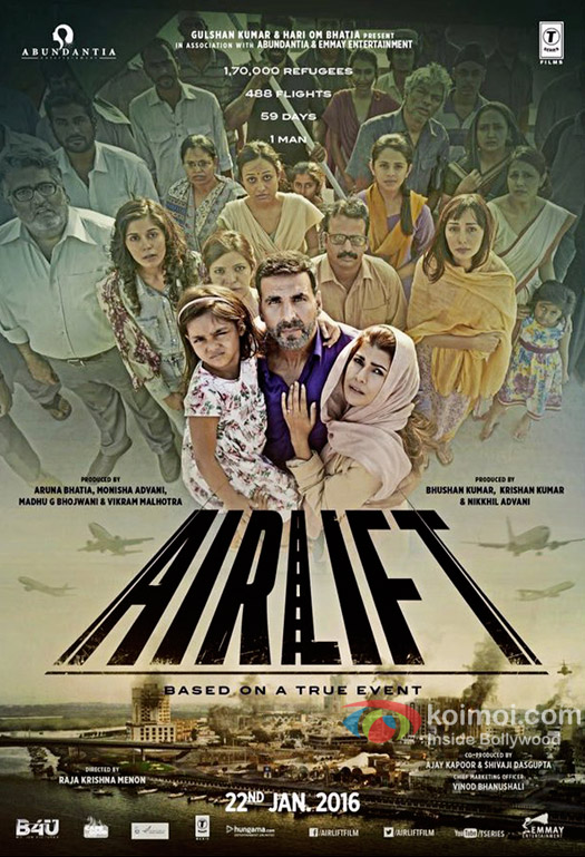 'Airlift' to be tax free in Bihar