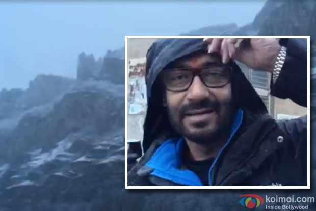 Ajay Devgn Gives 'Shivaay' Sneak Peak with a stunning picturesque video!