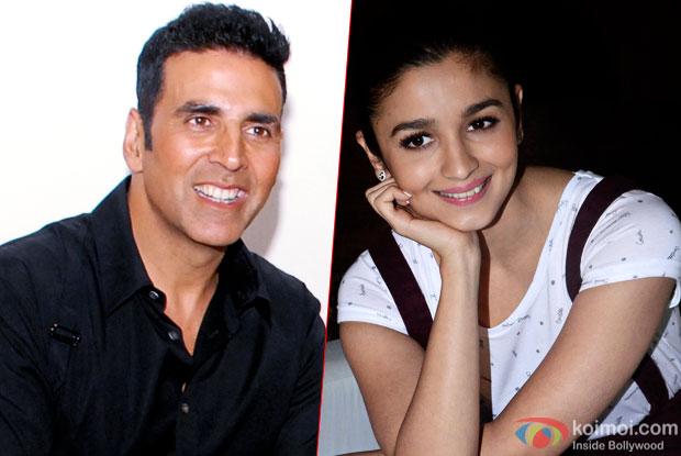 Akshay Kumar and Alia Bhatt In Sriram Raghavan's Next?
